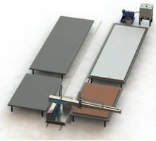 3600 - Automatic 2K & 3K Adhesive Application System for Large Panels